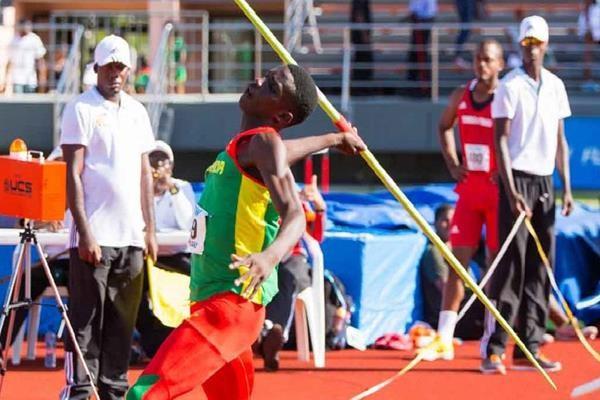 Grenada's Anderson Peters broke the CARIFTA Games under-20 javelin record ©IAAF
