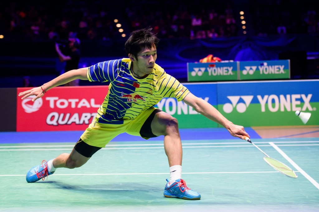 China's Tian Houwei continued his impressive run of form against Kidambi Srikanth