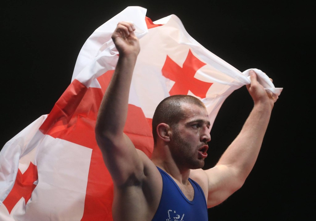 Gobadze grabs gold on opening day of Under-23 European Wrestling Championships