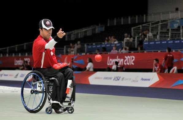 Paralympic bronze medallist Marco Dispaltro headlines the Canadian boccia team for this year's Parapan American Games ©Daniel Marcotte/CPC