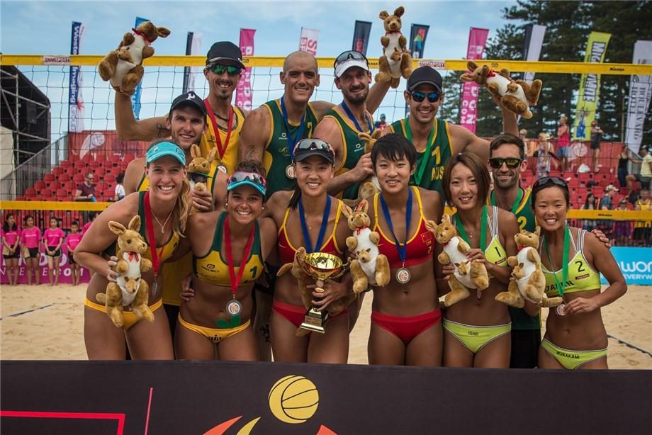 McHugh and Kapa secure third Asian Beach Volleyball Championship crown