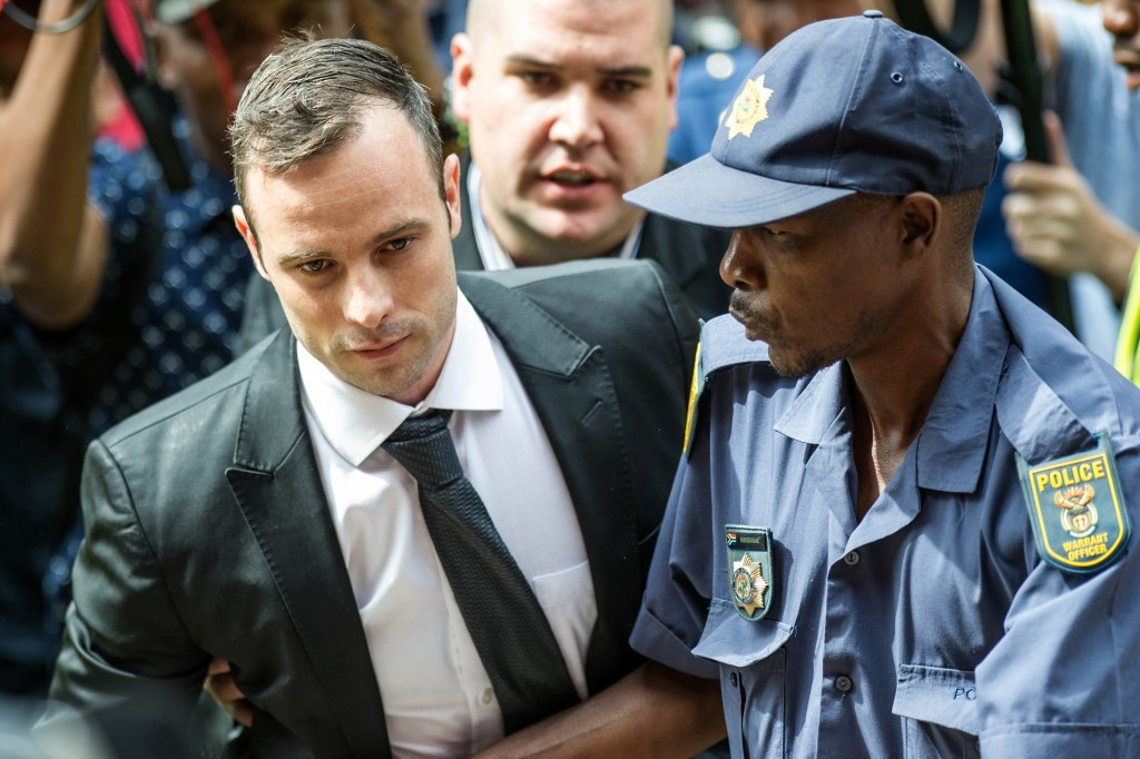 Oscar Pistorius will be jailed for the murder of girlfriend Reeva Steenkamp in June ©Getty Images