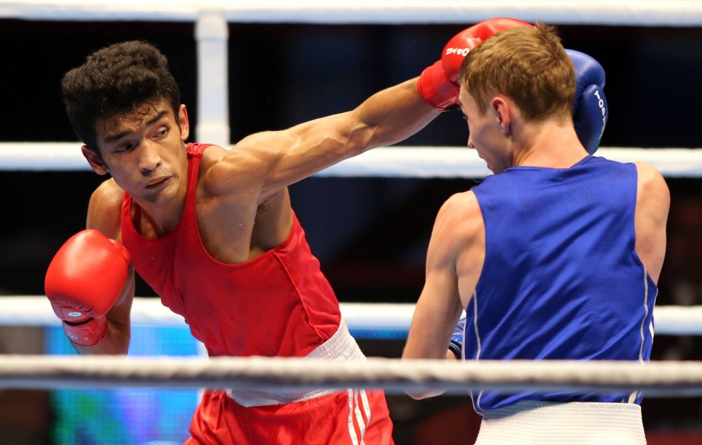 Thapa becomes first Indian boxer to qualify for Rio 2016 after reaching final at AIBA Asian/Oceanian Olympic Qualification Event