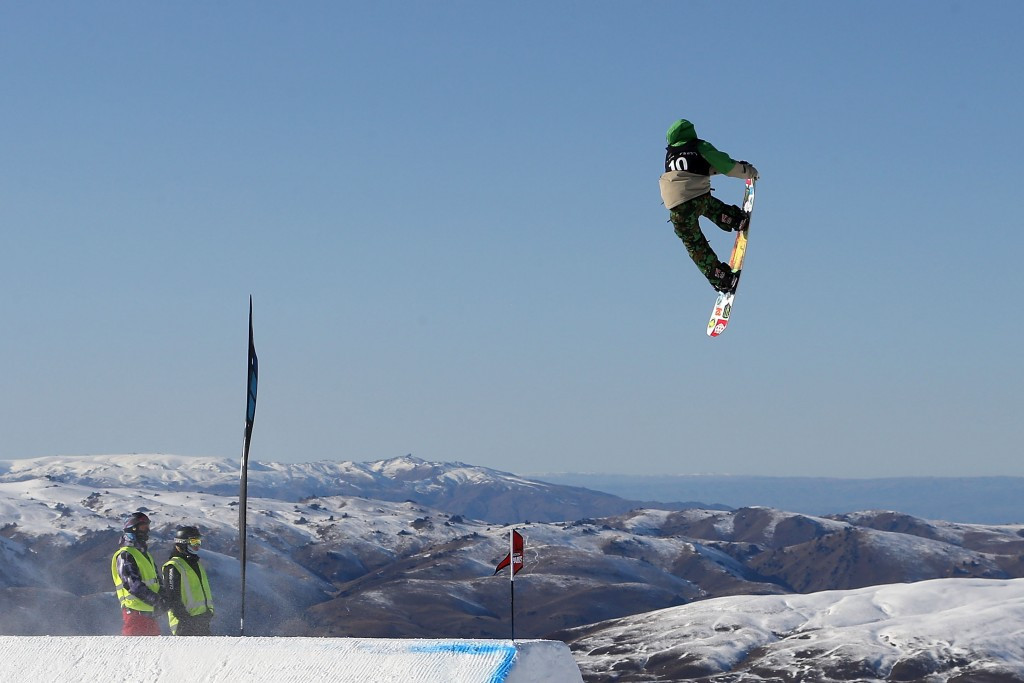 Corning adds big air title to slopestyle crown at FIS Snowboard Junior World Championships