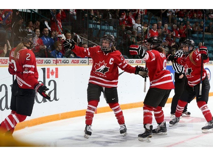 Olympic champions Canada through to semi-finals of Ice Hockey Women's World Championship with crushing win over Finland