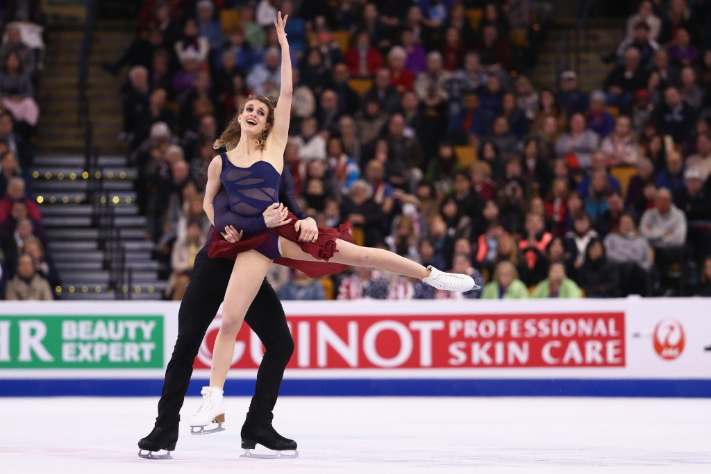 French duo defend ice dance title at ISU World Figure Skating Championships