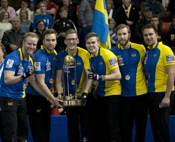 Sweden are the defending world champions