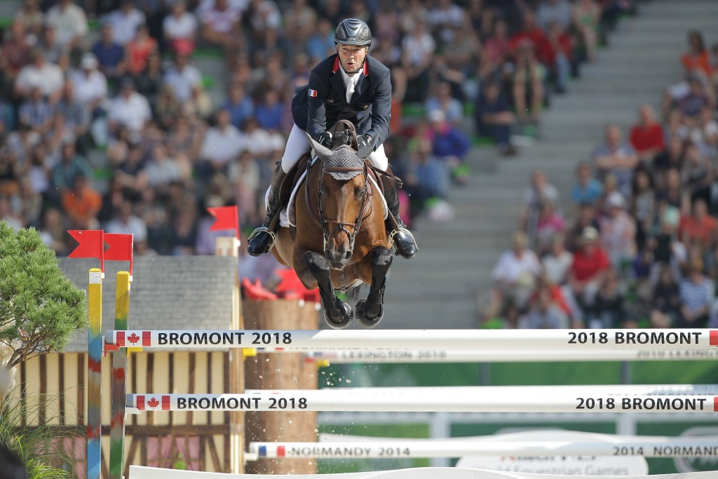 Normandy staged the 2014 World Equestrian Games and the next edition of the event will take place in Bromont in 2018