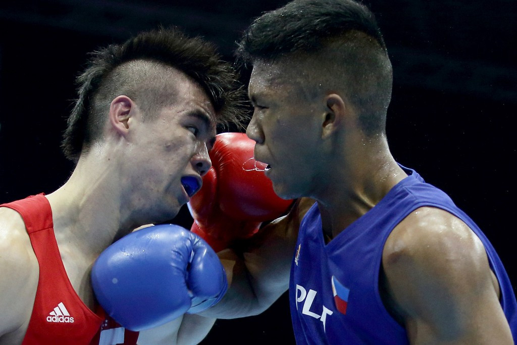 Top welterweight seed Eumir Felix Marcial was another Filipino boxer to miss out on claiming an Olympic place as he lost to Tuvshinbat Byamba of Mongolia