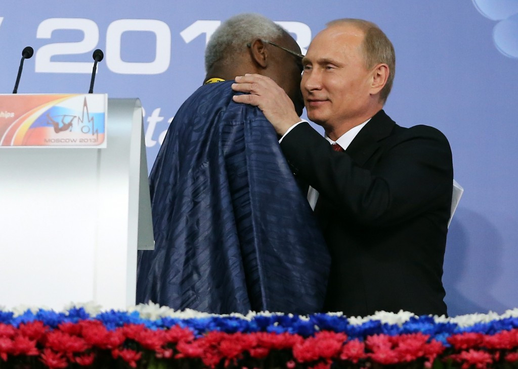 """Could Lamine Diack win the """"Russian Order of the Bear?"""" ©Getty Images"""