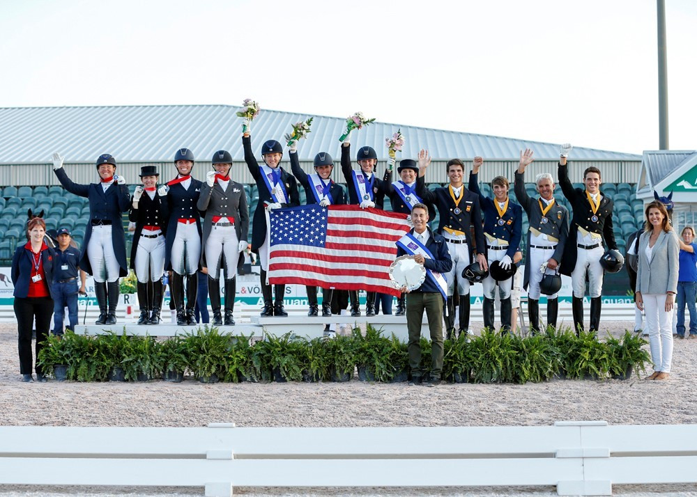 United States make winning start to FEI Nations Cup Dressage season in front of home crowd