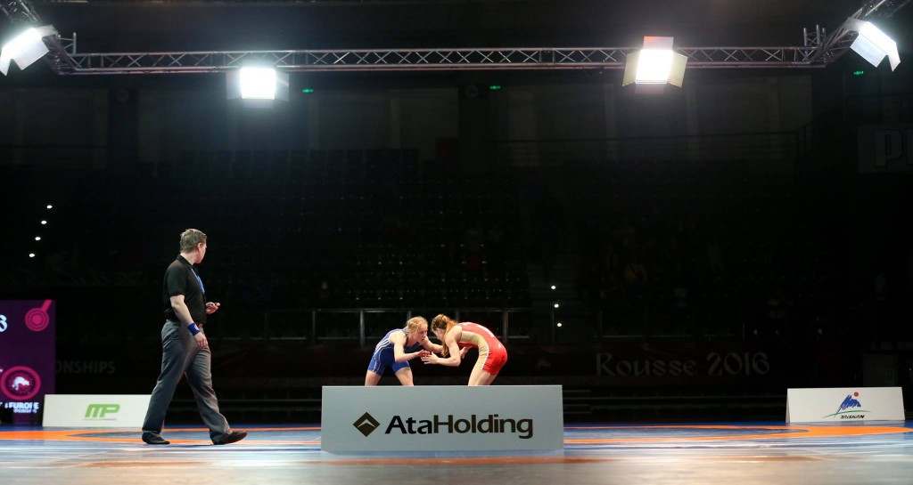 Russia seal double gold in women's freestyle events at Under-23 European Wrestling Championships