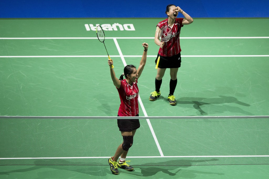 Indonesian duo end losing run with victory over Chinese rivals at BWF India Open