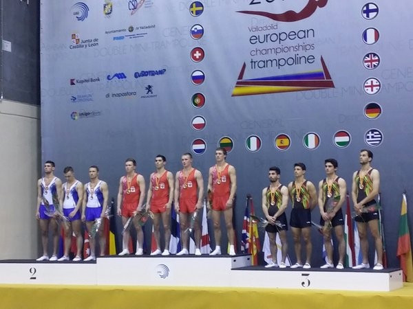 Russia and Britain defend team titles at European Trampoline Championships