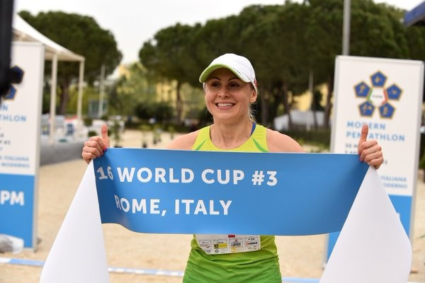 Olympic champion Asadauskaite claims women's individual gold at UIPM World Cup in Rome