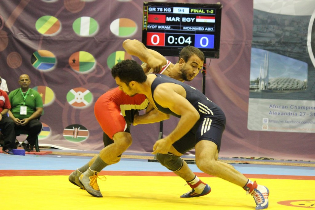 Zied Ait Ouagram will now hope to improve upon his performance at London 2012 ©UWW
