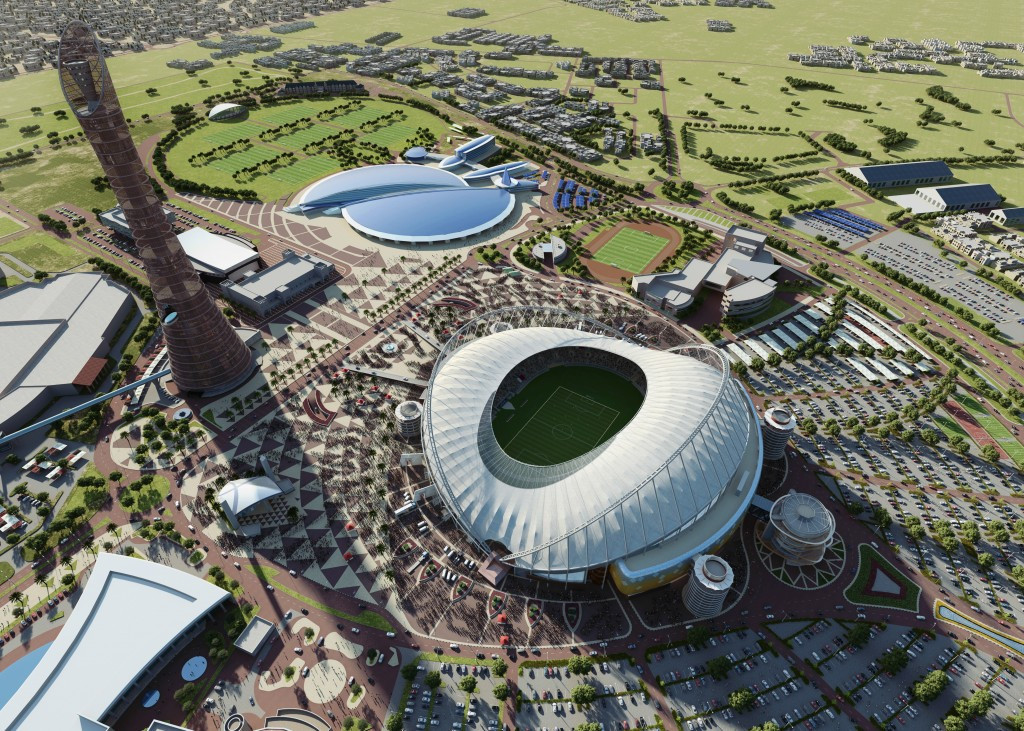 The Khalifa International Stadium in Doha is set to be the first venue completed for the 2022 FIFA World Cup ©Getty Images