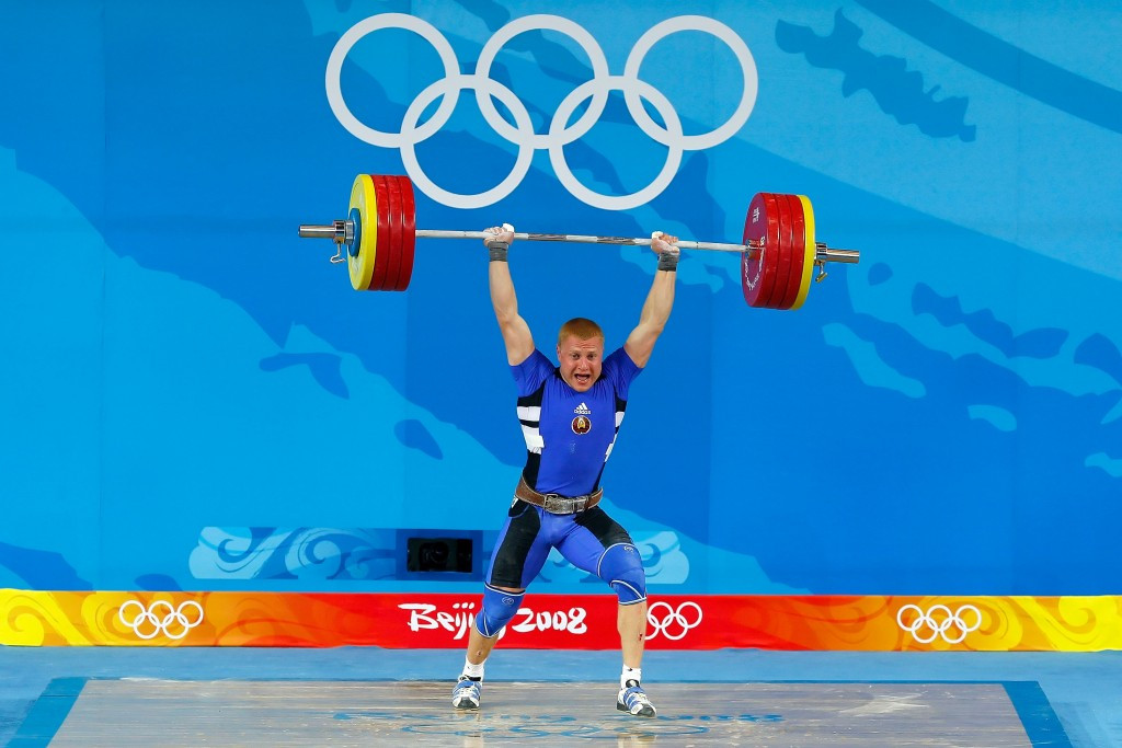 Andrei Rybakov won an Olympic silver medal at Beijing 2008 and Athens 2004 ©Getty Images