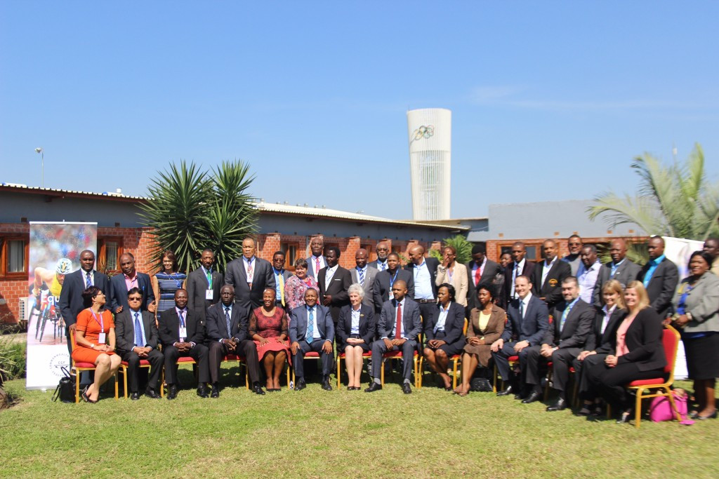 CGF President visits Zambia on first leg of regional forum tour