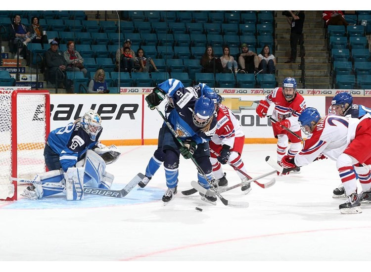 Finland and Russia seal semi-final spots at Ice Hockey Women's World Championship