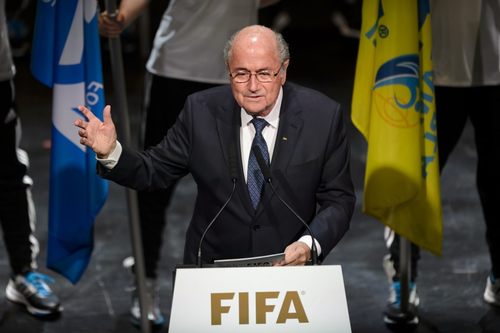 Current President Sepp Blatter has refused to step down from his position despite the turmoil