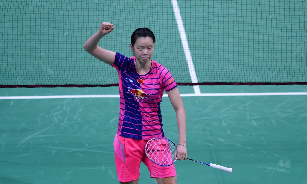 Li Xuerui beat Saina Nehwal in the semi-finals of the India Open ©Getty Images