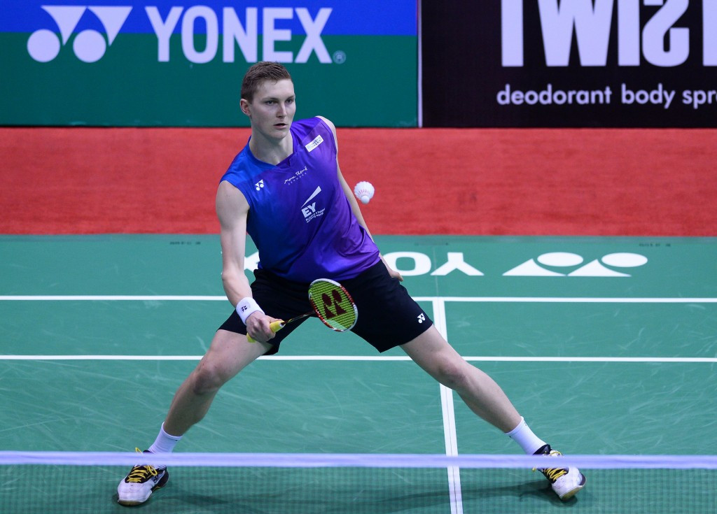 Denmark's Viktor Axelsen cruised into the men's singles final ©Getty Images