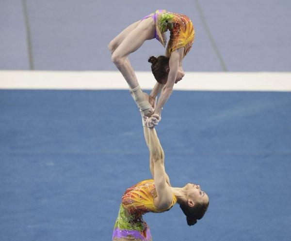 Russia clinch double gold at Acrobatic Gymnastics World Championships