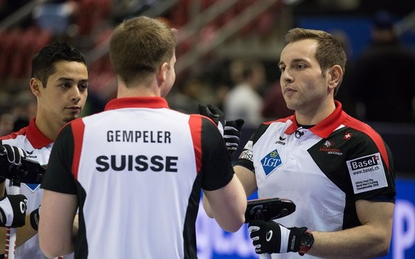 Hosts Switzerland began with success over Germany