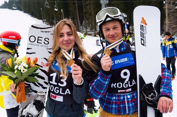 Russians sweep parallel giant slalom titles as FIS Snowboard Junior World Championships resumes