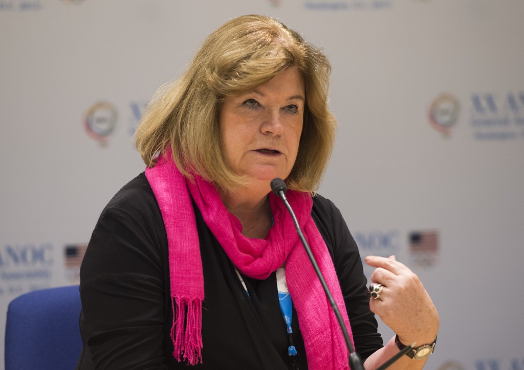 ANOC secretary general Gunilla Lindberg has visited San Diego to the 2017 World Beach Games, due to be held in the Californian city, ahead of the Executive Council meeting ©Getty Images