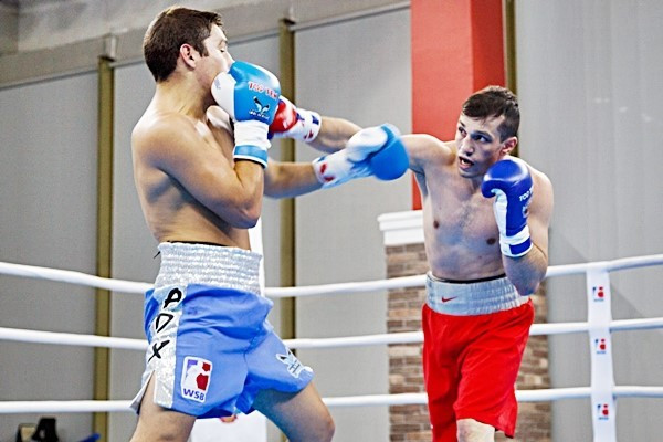 The Russian Boxing Team completed a perfect run of victories in the World Series of Boxing group stage by thrashing Argentina Condors in Moscow ©Getty Images