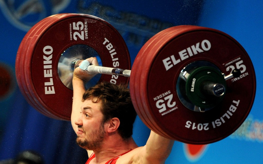 Tbilisi staged last year's European Weightlifting Championships