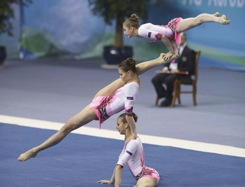 Russia finish top at Acrobatic Gymnastics World Championships after two more gold medals