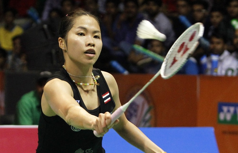 Momota and Intanon claim straight sets singles titles at BWF India Open