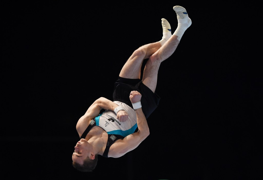Ukrainian Verniaiev proves his class at FIG World Challenge Cup in Cottbus