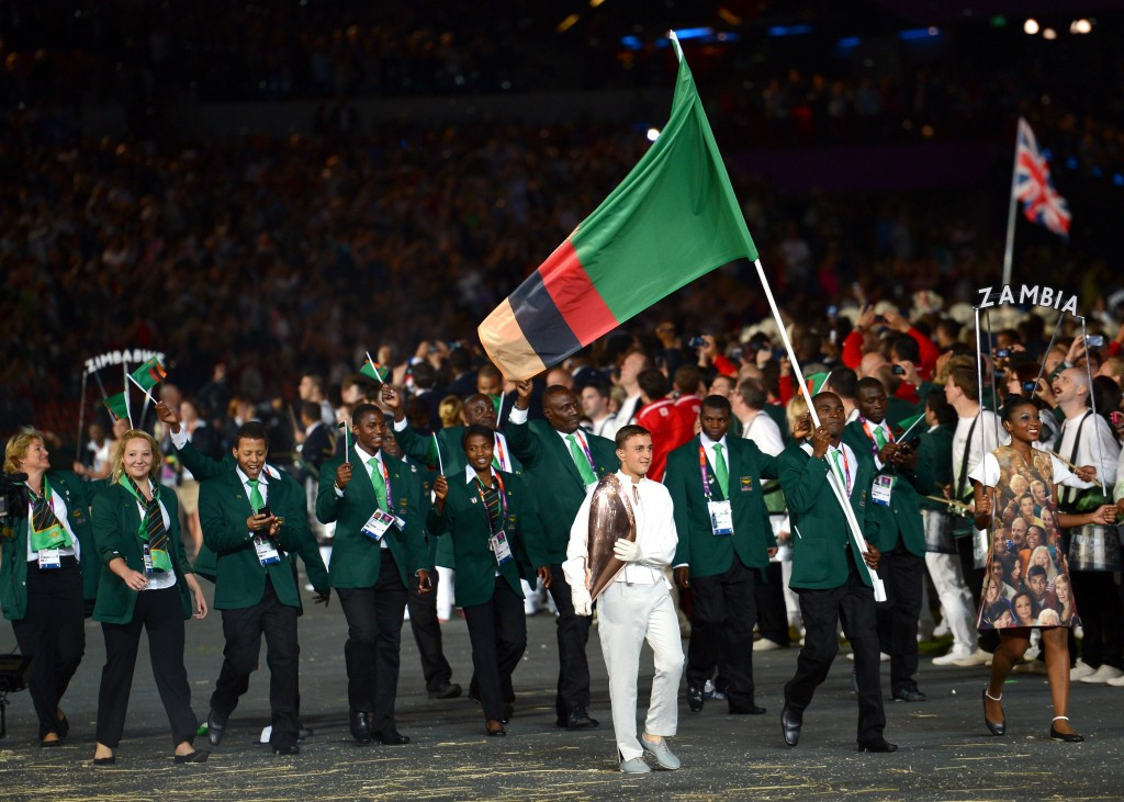 Zambian athletes receive boost as mining company donate funds to help Rio 2016 preparations