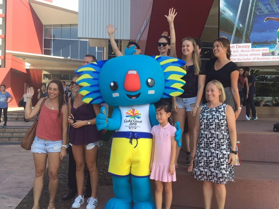 Gold Coast 2018 mascot receives warm welcome