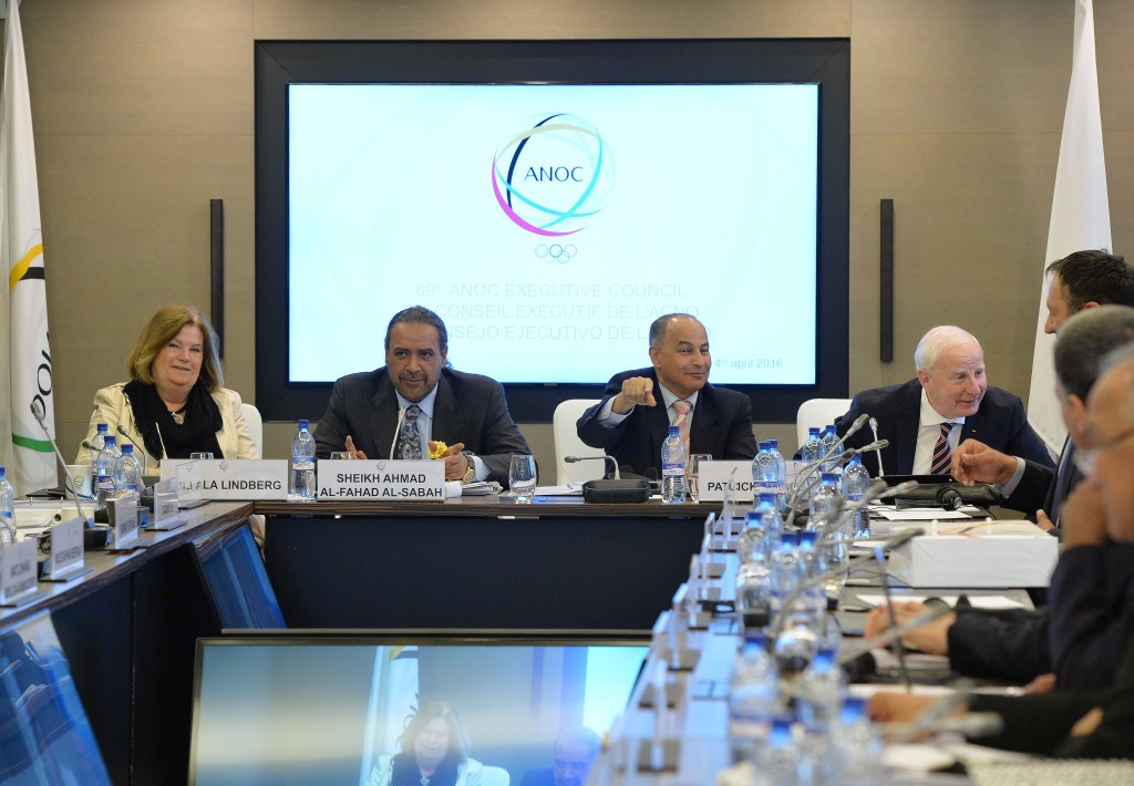 ANOC pledge full support for Rio 2016 during Executive Council meeting