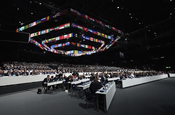 Rumours of a bomb scare has highlighted the FIFA Congress so far today ©FIFA