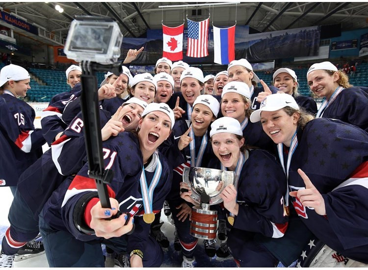 US seal third consecutive World Women's Ice Hockey Championship title with win over Canada