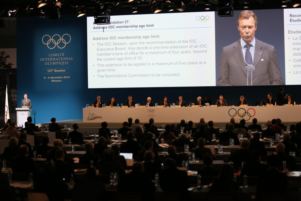 Ole Einar Bjørndalen has missed two IOC Sessions, including the Extraordinary one in December 2014 in Monte Carlo at which Olympic Agenda 2020 was unanimously approved