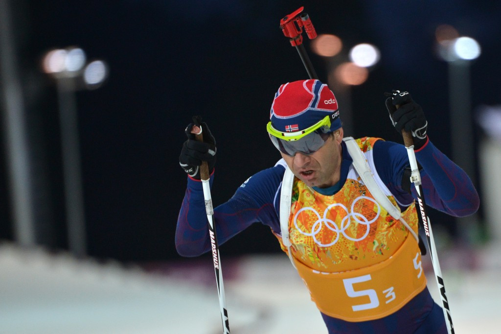 Ole Einar Bjørndalen had initially planned to retire after the Sochi 2014 Games ©Getty Images