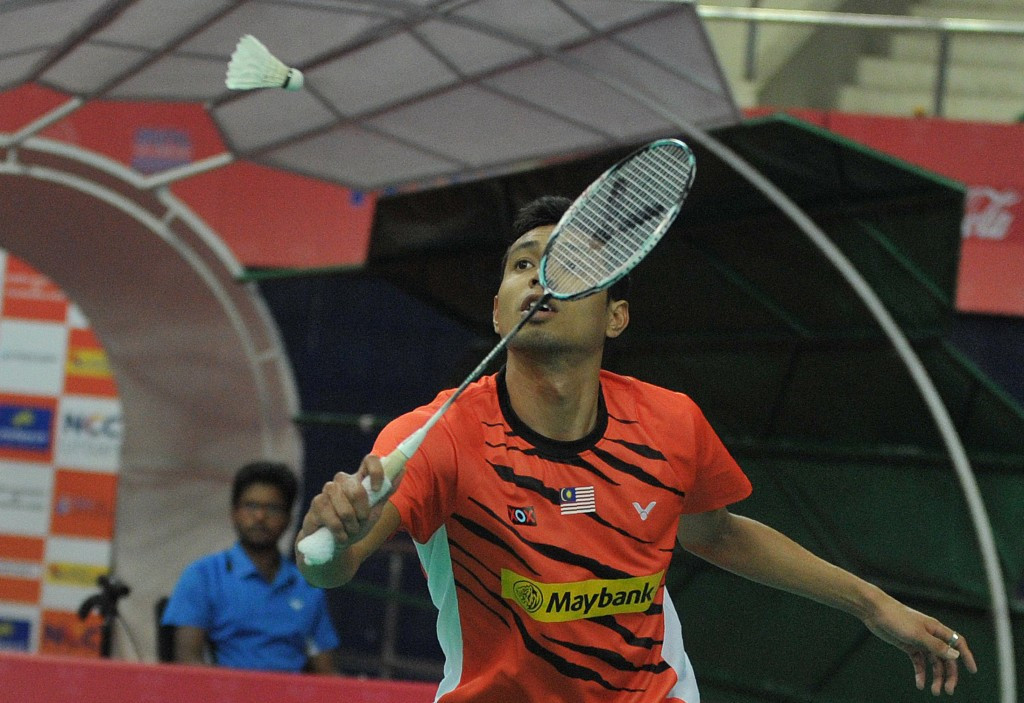 Home favourite Iskandar Zulkarnain Zainuddin secured his place in the main draw of the BWF Malaysia Open today ©Getty Images