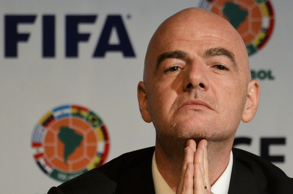 "FIFA President Infantino ""dismayed"" after being named in Panama Papers over contract with accused officials"