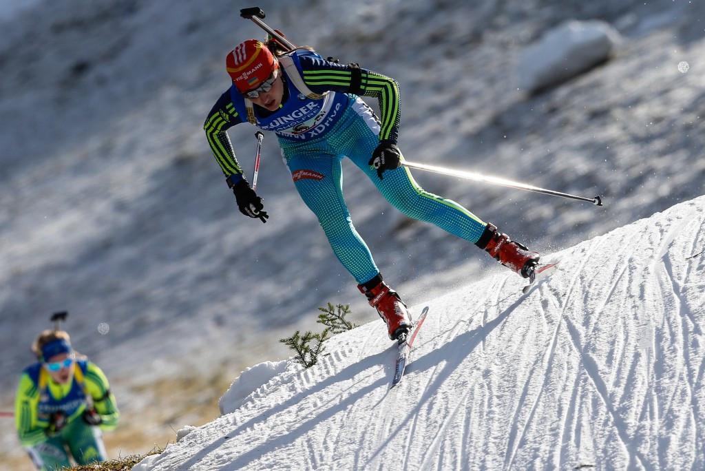 Olga Abramova is one of two Ukrainian biathletes to have tested positive for meldonium