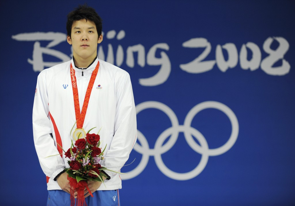 Park Tae-hwan won Olympic gold at Beijing 2008 but will not get the chance to represent his country at Rio 2016