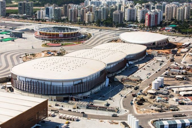The Carioca Arena 1 on the Barra Olympic Park will play host to the latest Rio 2016 test event ©Rio 2016