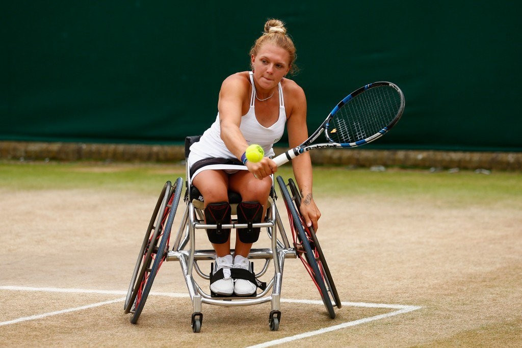 Wheelchair tennis star Whiley set for return to court next month