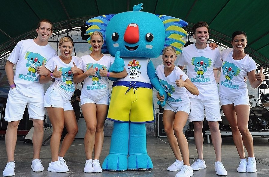 Graphic designer claims Gold Coast 2018 mascot was based on his idea